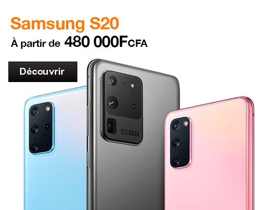 Nouveauté Samsung S20