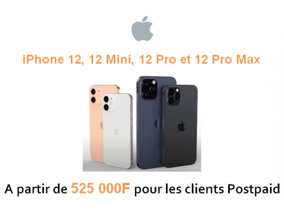IPhone 12, 12 Mini, 12 Pro et 12 Pro Max